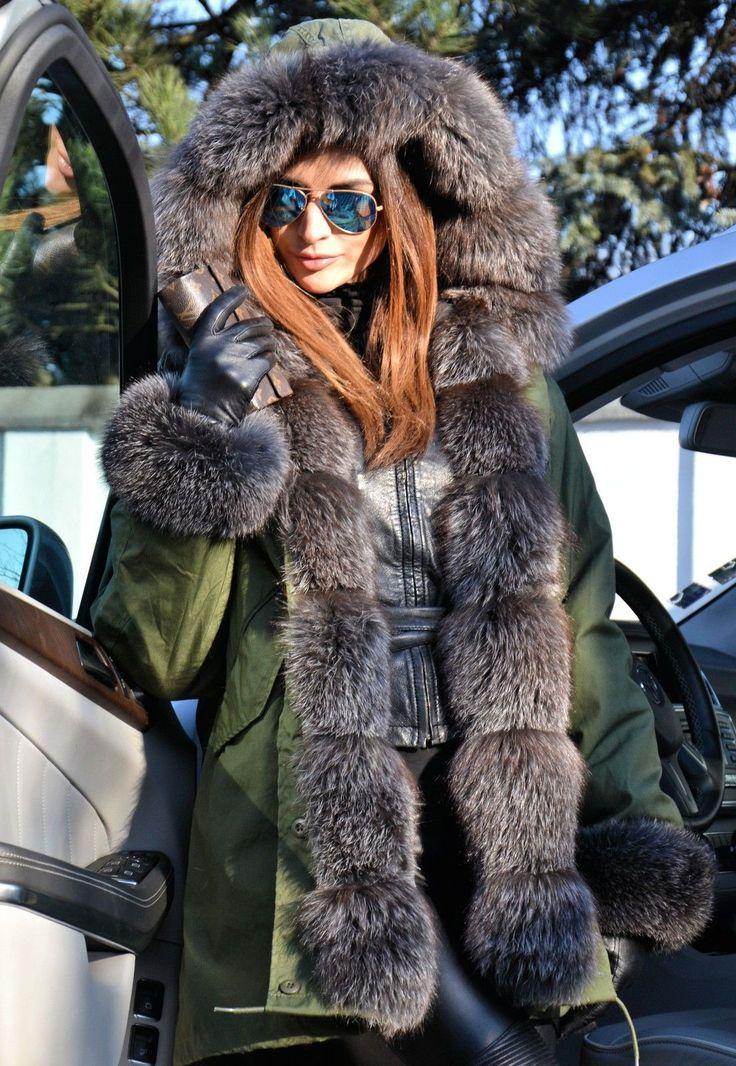 nice Парка женская зимняя с натуральным мехом (50 фото) — Разнообразие  моделей модных курток 5ffb12ba96c1b