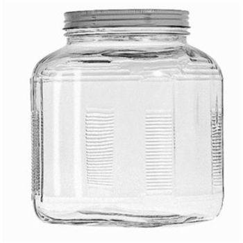 1 Gallon Cracker Jar w/Brushed Silver Lid  sc 1 st  Pinterest & 1 Gallon Cracker Jar w/Brushed Silver Lid | Pinterest | Crackers ...