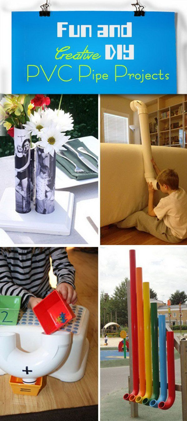 Fun and Creative DIY PVC Pipe Projects!