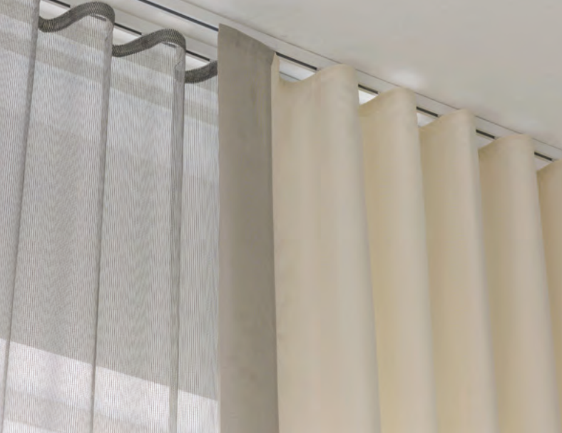 ceiling curtain track ceiling curtains and blockout blinds