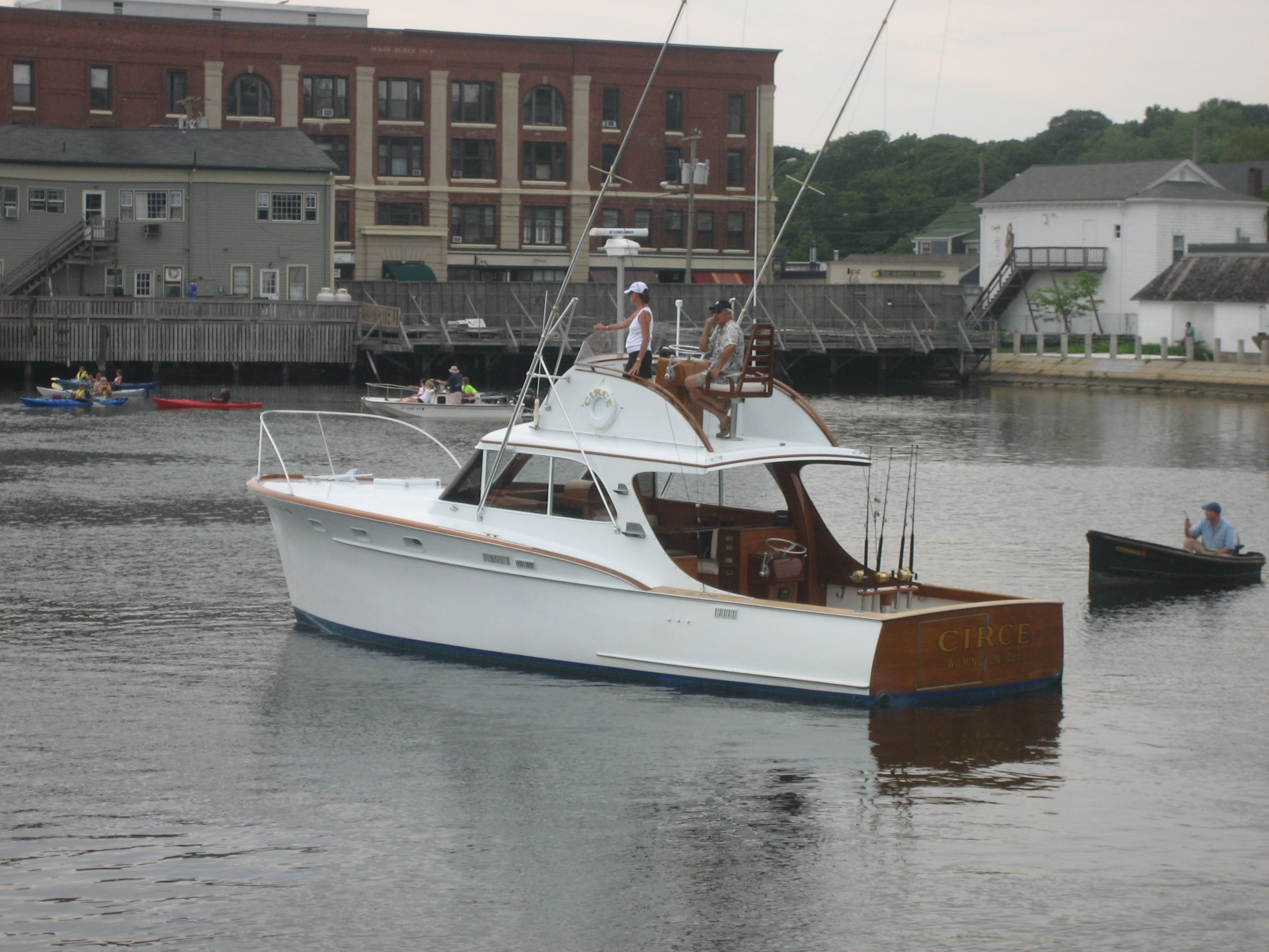 1957 Rybovich At Mystic Antique And Classic Boat Show Sport