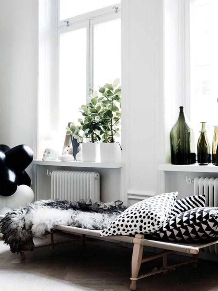 GroBartig Fensterbank Dekoration Pflanzen Schlafzimmer Muster