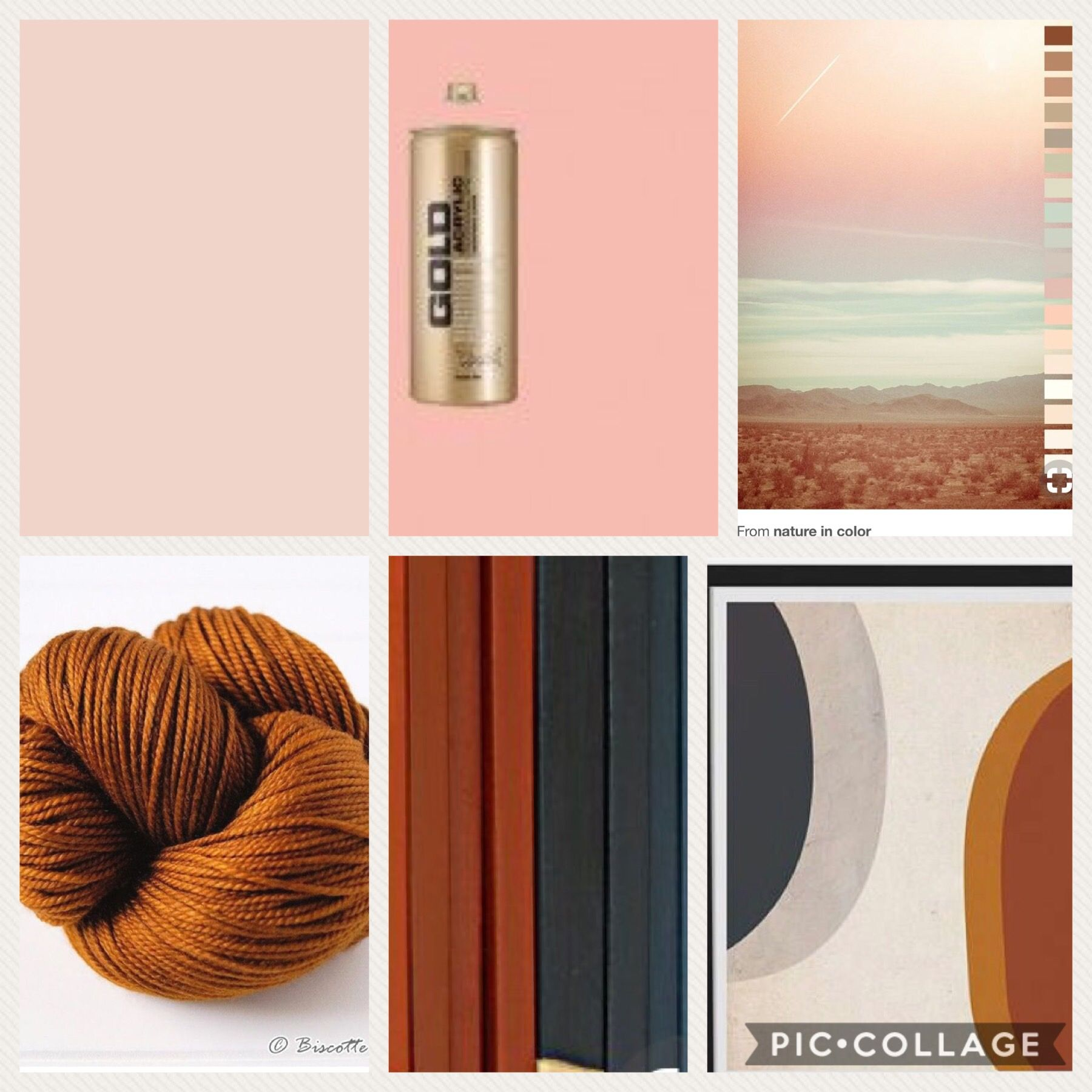 Home color scheme- pale blush and shrimp pastel, caramel, dark ...