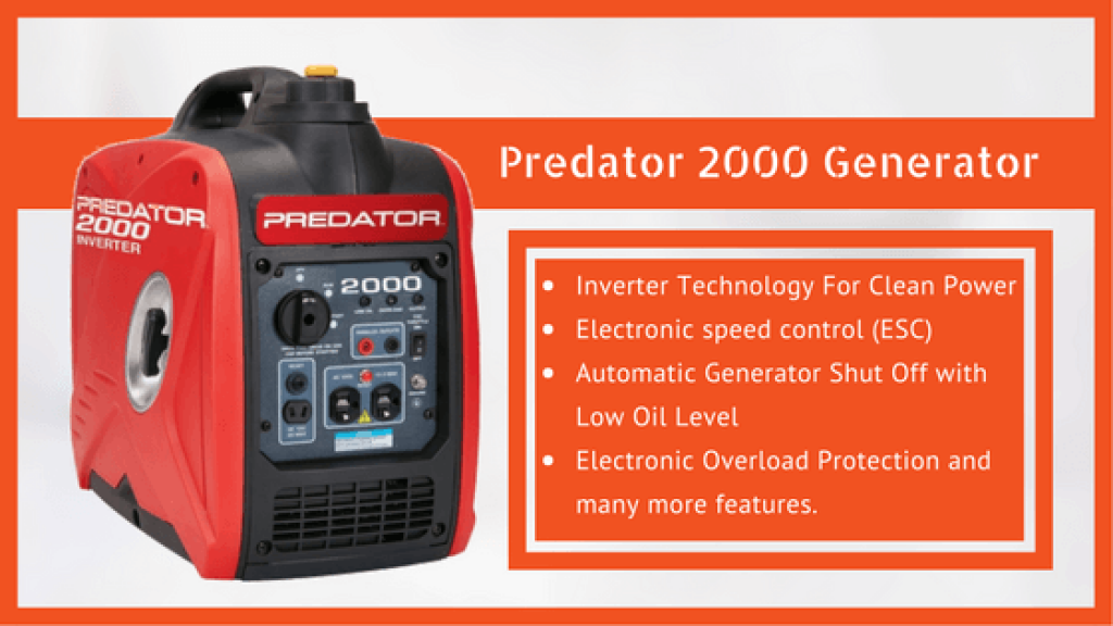 Predator 2000 Generator Review Small Need Generation