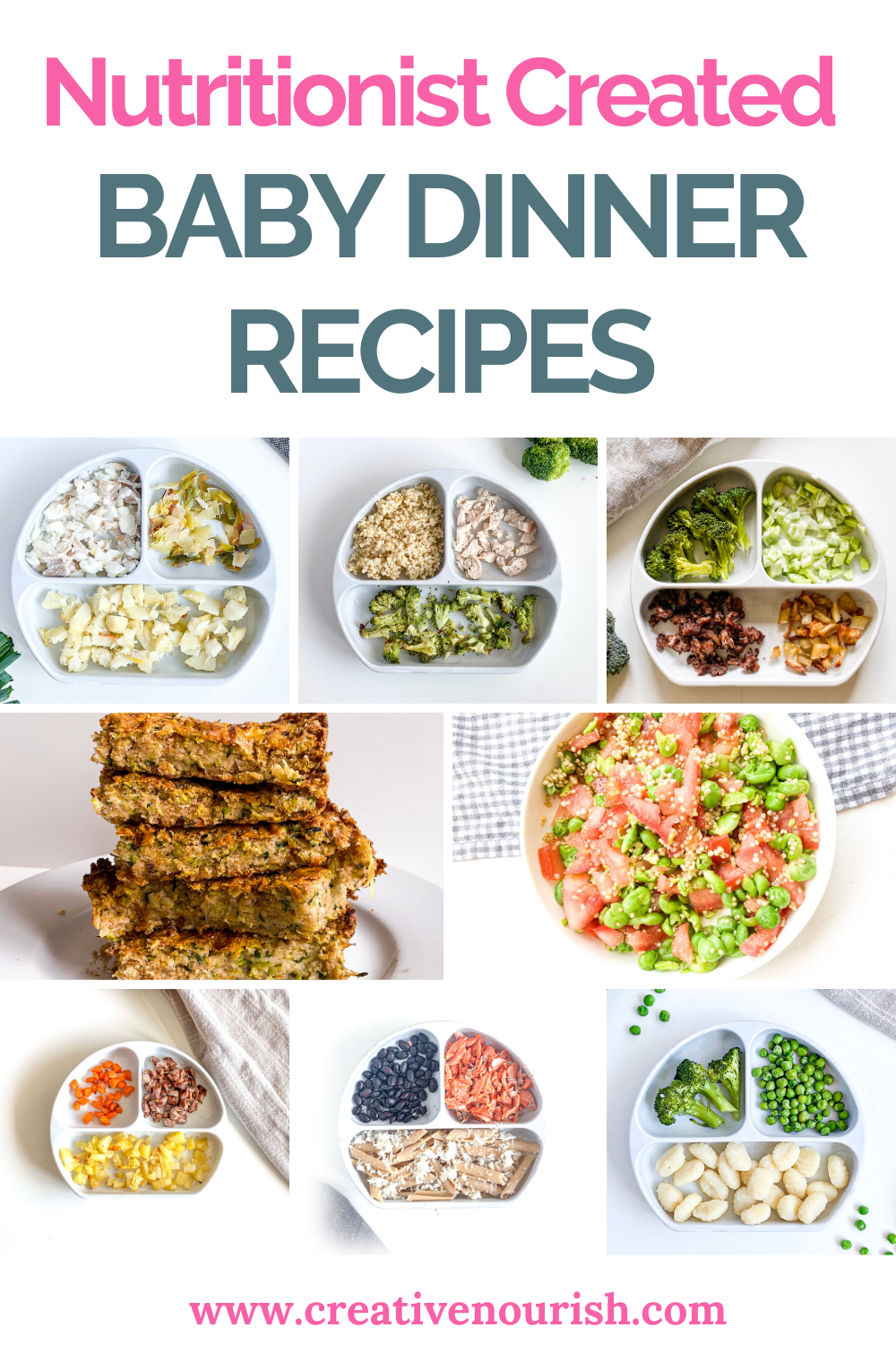 Dinner Recipes For Baby Nutritionist Created Toddler Dinner Recipes Baby Food Recipes Toddler Lunch Recipes