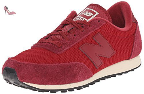 1550, Sneakers Basses Homme, Rouge (Red), 42.5 EUNew Balance