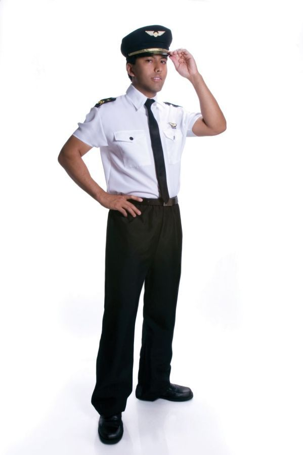 5f49b38d2b Men s Airline Pilot Costume available at Teezerscostumes.com