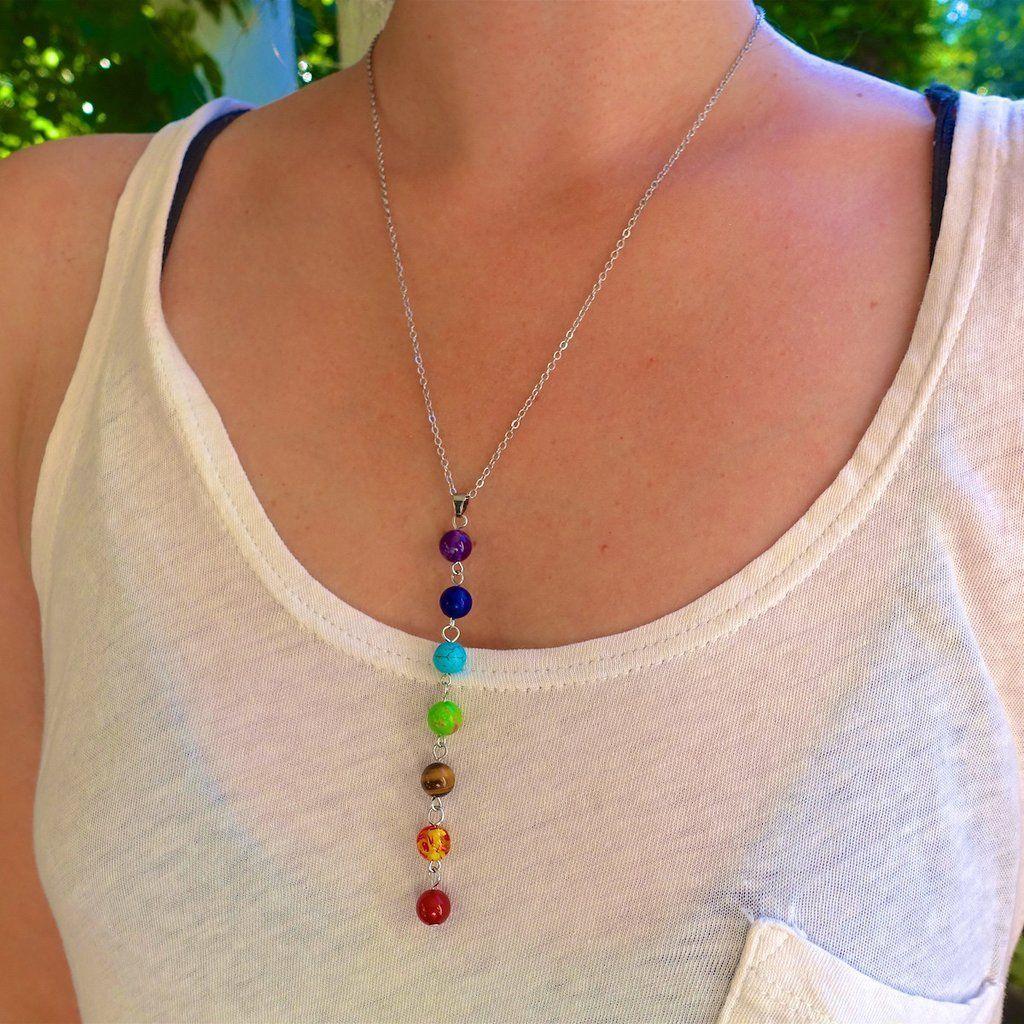 7 Chakra Alignment Necklace