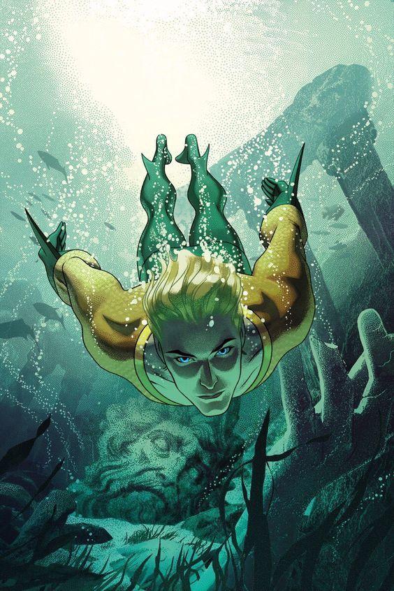 Aquaman Art by Joshua Middleton