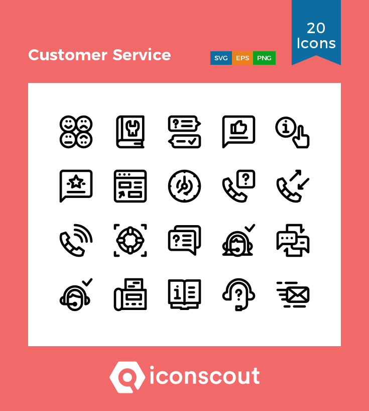 Download Customer Service Icon Pack Available In Svg Png Eps Ai Icon Fonts Icon Pack Icon Icon Font
