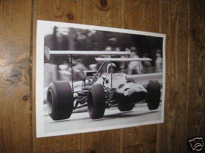 Jack Brabham F1 Formula One Legend POSTER Spd | Various F1