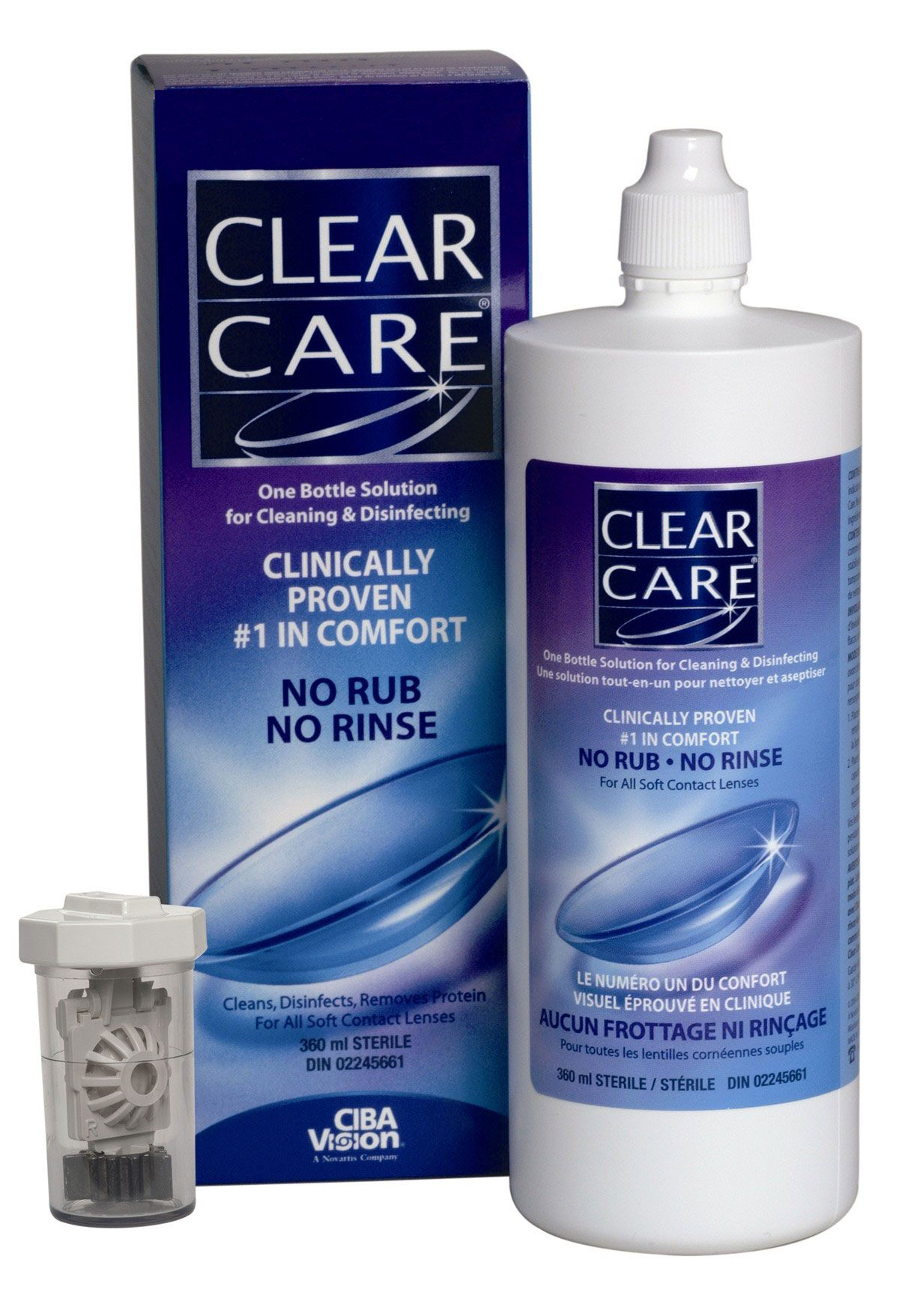 Clearcare The Best Contact Lens Solution With The Strength Of Hydrogen Peroxide To Clean Your Contacts With Images Care Best Contact Lenses