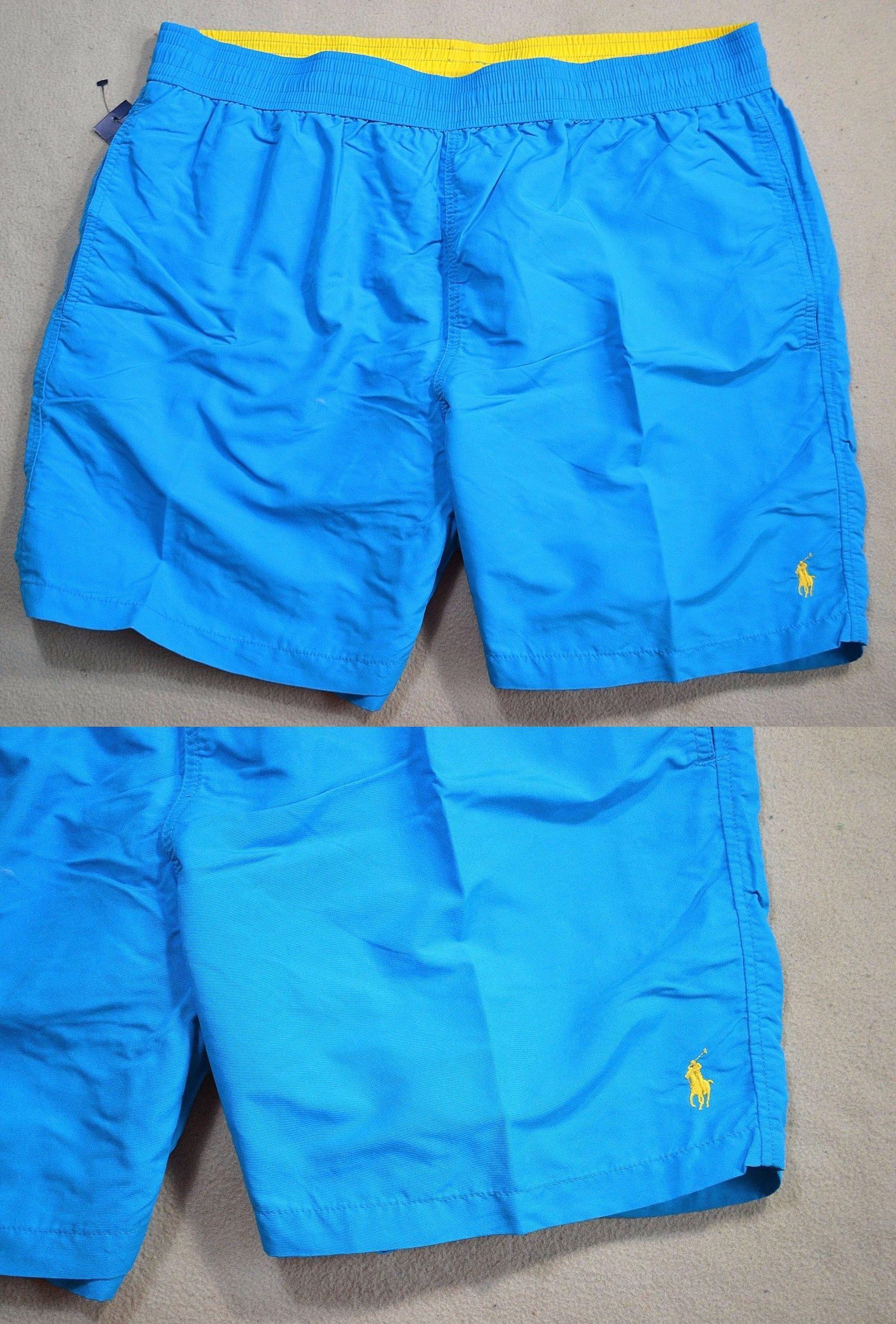 e8c6096b8a ... switzerland swimwear 15690 nwt mens polo ralph lauren classic haw ocean board  shorts swim trunks sz