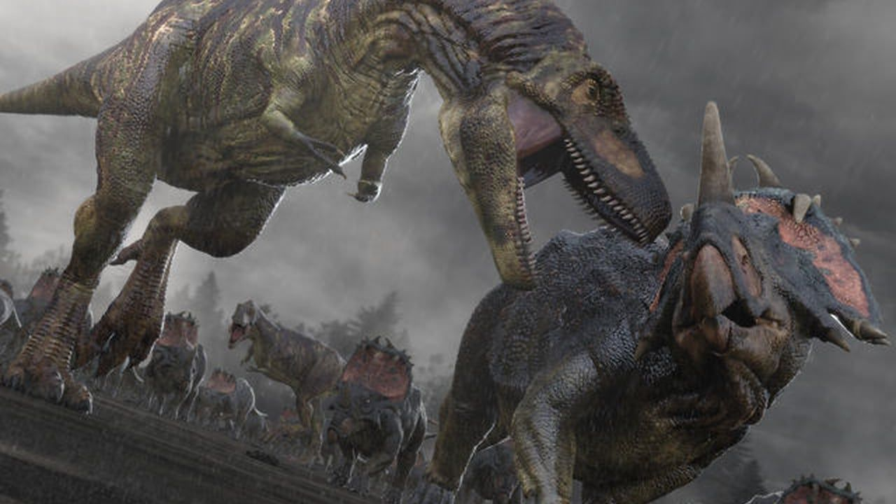 Jellyfish's use of NUKE for BBC's 'Planet Dinosaur'