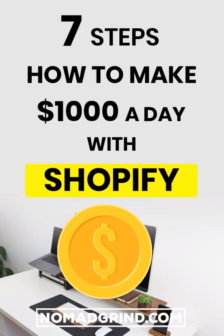 7 Steps How To Make $1000 A Day With Shopify | Dropshipping | Dropshipping Tips | Dropship | Dropshipping For Beginners | Dropshipping Shopify | Dropshipping Ecommerce | Dropshipping Aliexpress | Dropshipping Hacks | Dropshipping Guide | Dropshipping Business | Dropshipping Marketing | Shopify | Ecommerce | Drop Shipping