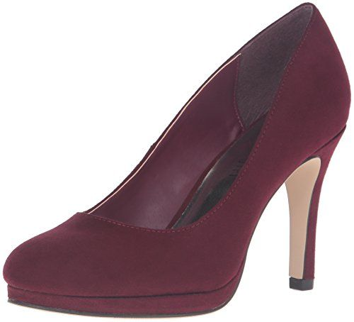 3e1bd6bbd36 49.95 Madden Girl Women s Dolce Dress Pump.Color  Burgundy Fabric ...