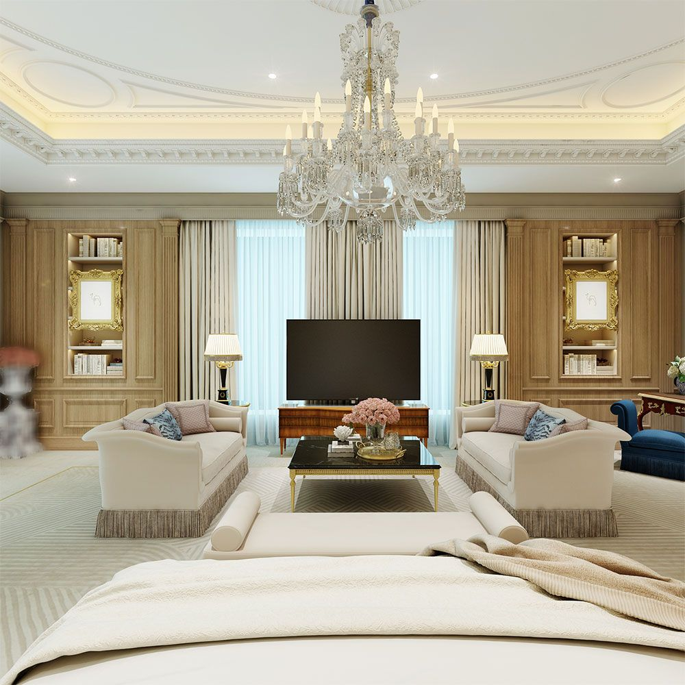 This Is Part Of The Bedroom In This Chic Contemporary Classic Presidential Suite But Can You Guess What We Have Blurre Home Decor Apartment Decor Home Bedroom