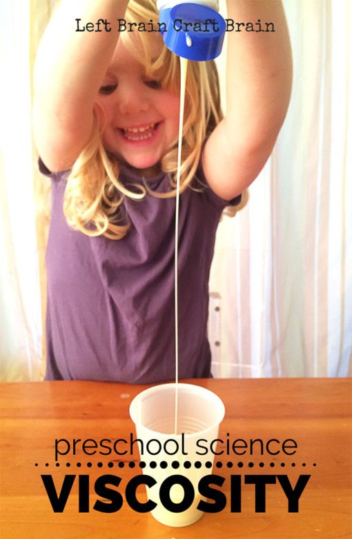 Making liquid potions is a engaging way to learn about viscosity.  Preschool science made fun!