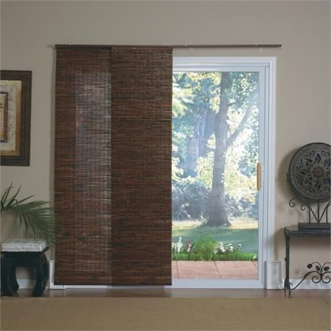 Sliding Bamboo Blinds For Patio Doors Window Shades Sliding Glass Door Sliding Door Blinds