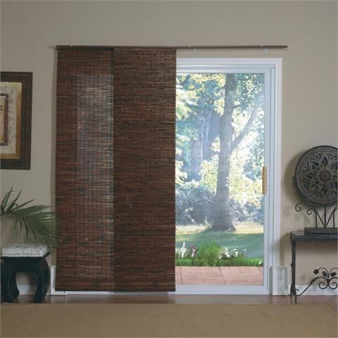 Sliding Bamboo Blinds For Patio Doors Bamboo Window Shades