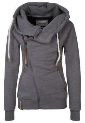 damen Naketano Sweatjacke grey melange