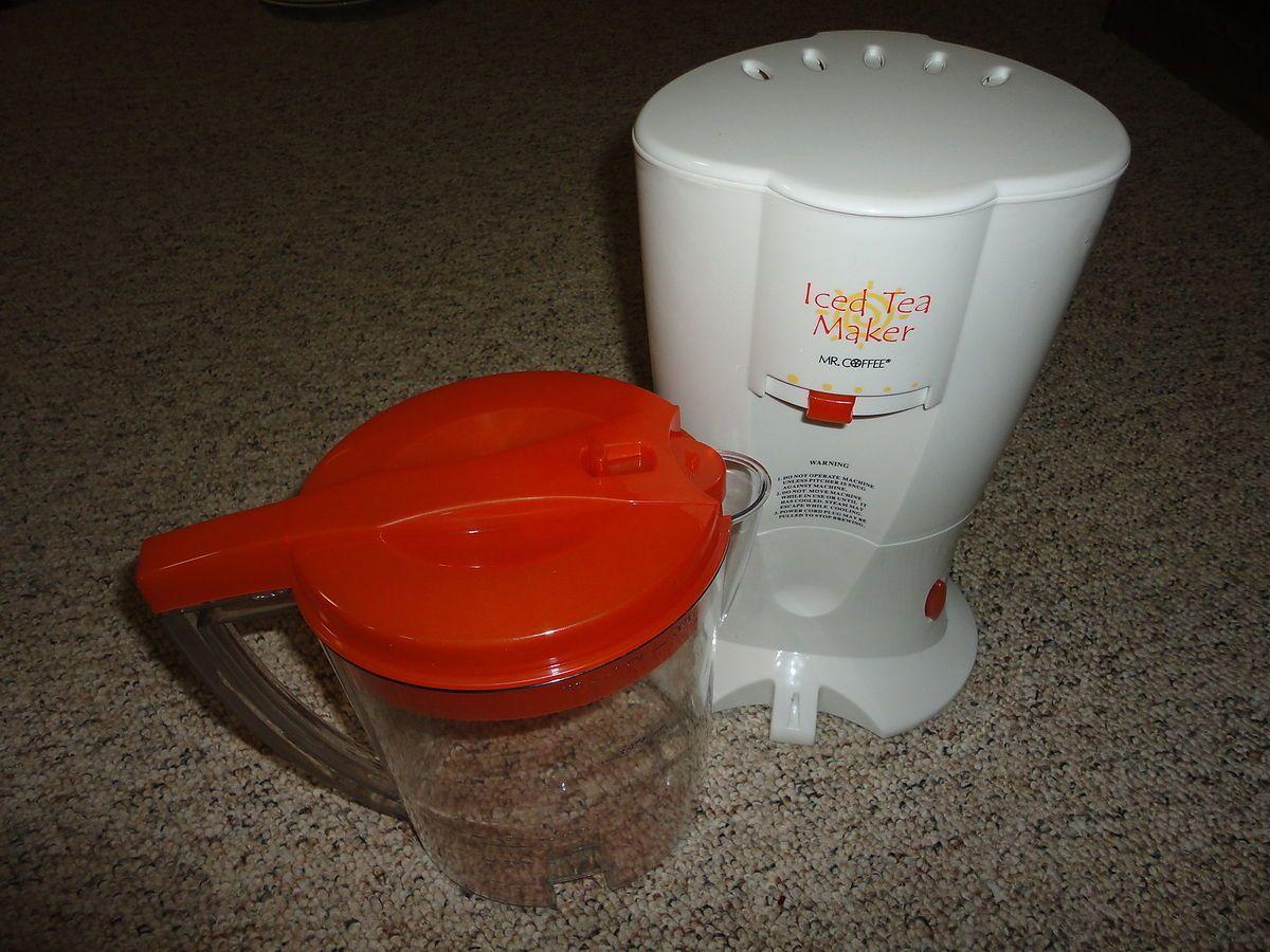 Mr Coffee Iced Tea Maker Model TM20P with 3 Quart Pitcher