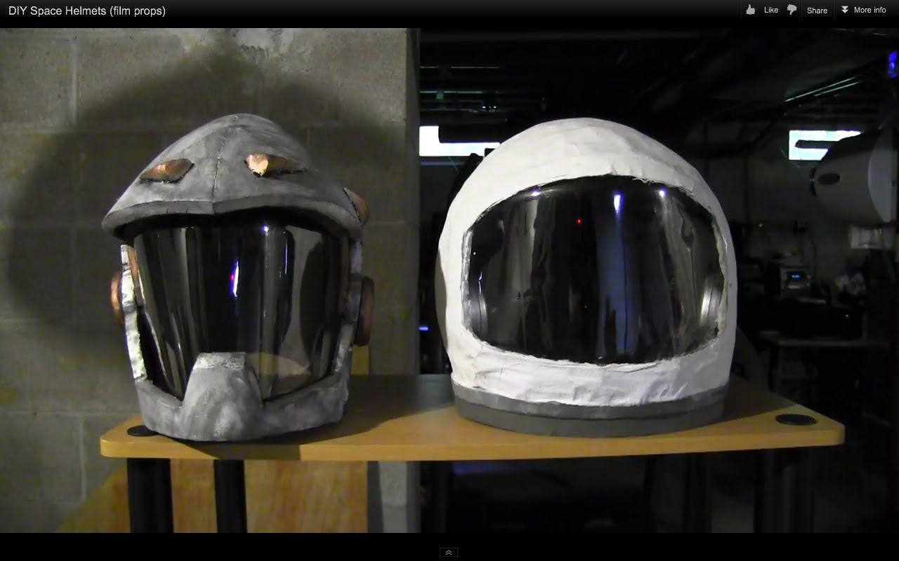 make your own astronaut helmet costume - photo #17