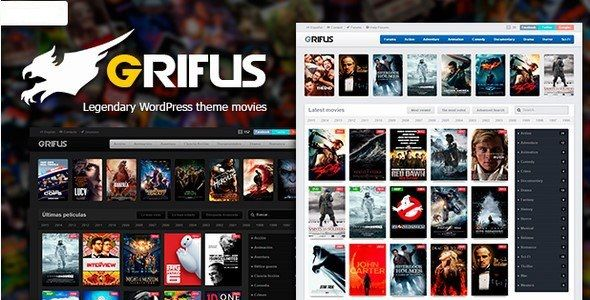 Theme Grifus v4.0.6 - Movies and TV Shows Theme Free Download | Free ...
