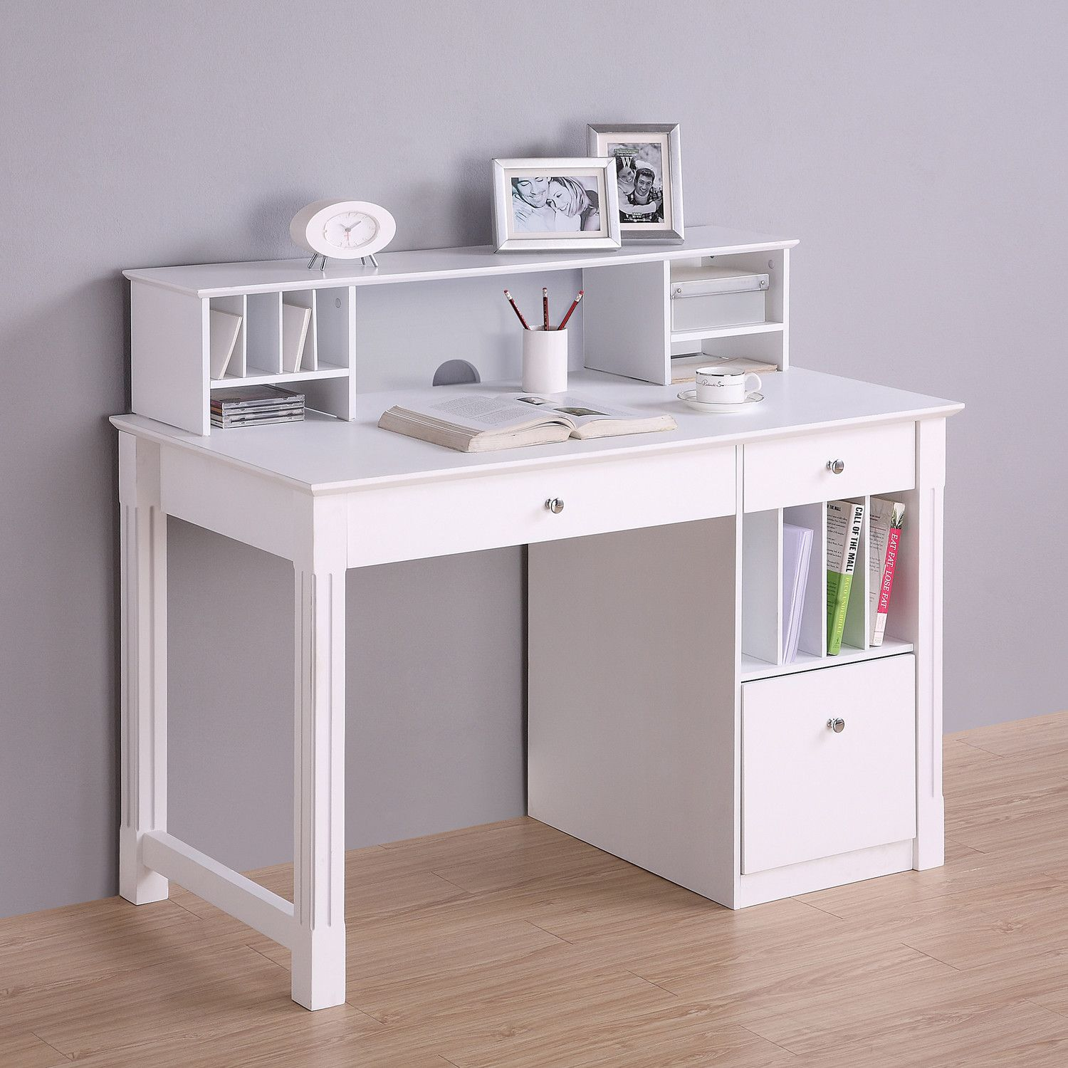 Home Loft Concepts Deluxe Writing Desk with Hutch | My Wish List ...