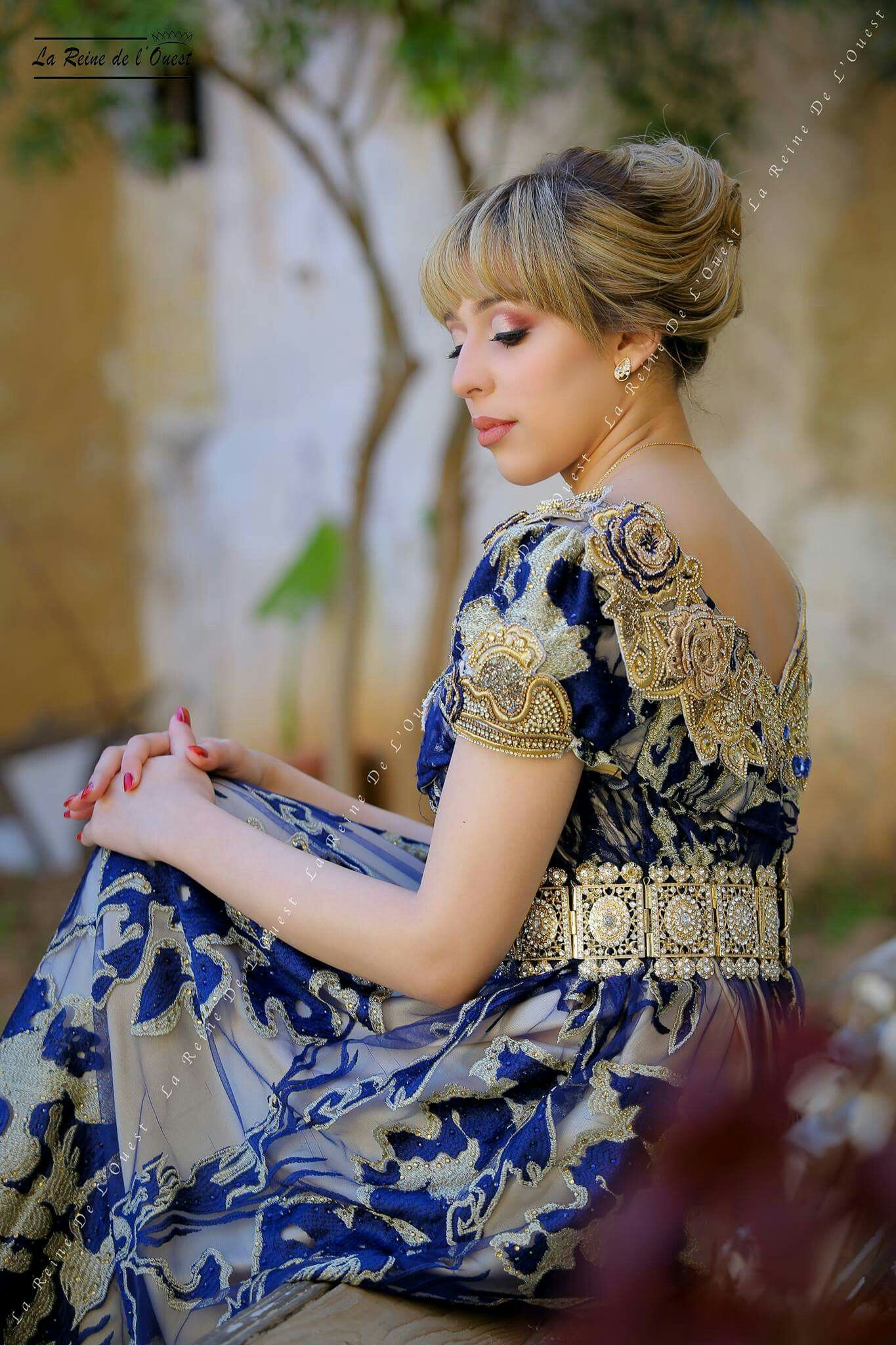 Blouza Oranaise Traditional Algerian Dress From Oran Traditions Algerie Tlemcen Oran Traditional Dresses Traditional Outfits Elegant Fashion