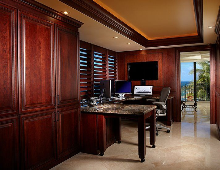 Home Office Remodel In Delray Beach, Florida. Contractor Wightman  Construction, Inc And Designer