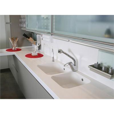 Seamless Sink... Genius! Silestone Integrated Countertops From Silestone