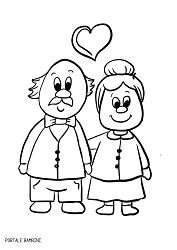 Grandparent S Day Coloring Pages Printable For Free Portale Bambini Farm Animal Coloring Pages Grandparents Day Valentine Coloring Pages