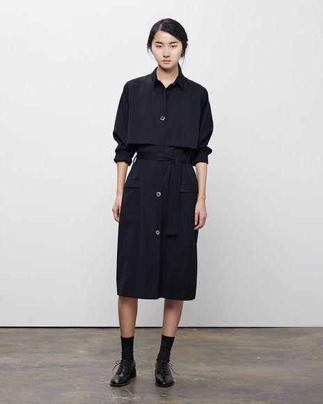 La Garçonne Moderne | Academie Trench Dress | La Garçonne