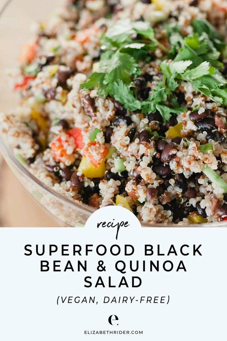 Superfood Black Bean Quinoa Salad