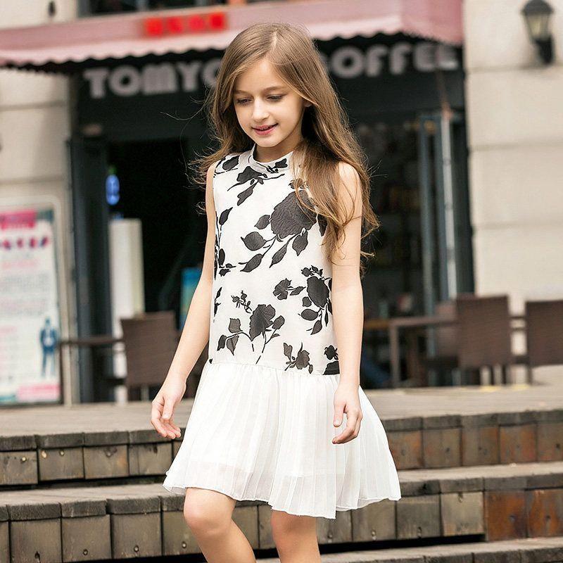 2f8259b8c 2017 Summer Elegant Kid Girls Cute Baby Girl Frock Design Dresses ...