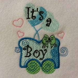 Free Embroidery Design: It's a Boy | Free Embroidery Designs