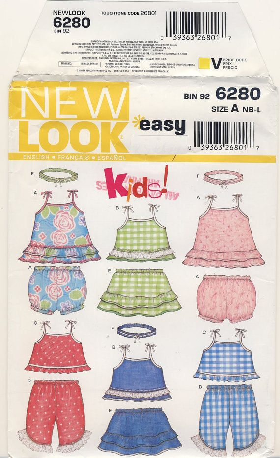 f2a09913e New Look 6280 Baby Dress