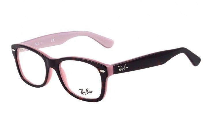 628d17da5f1f9 RAY BAN JUNIOR RB 1528 - ÓCULOS DE GRAU   óculos fashion   Pinterest ...