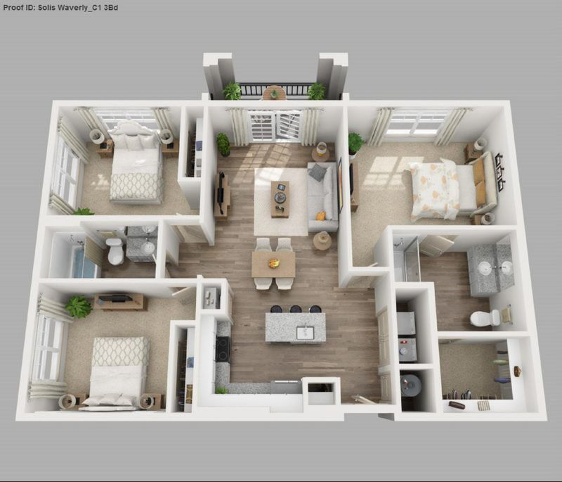 Pin By Sevilay Erdal On House Plans In 2020 Apartment Floor Plans Bedroom Floor Plans Bedroom House Plans