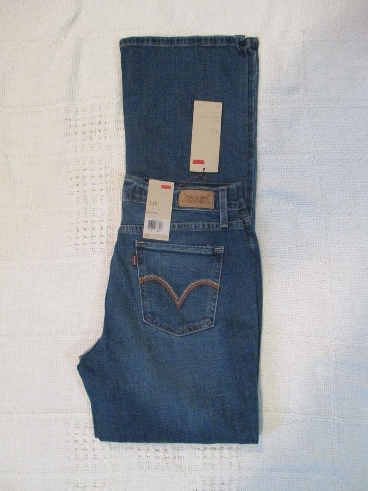 be0e98df225 Women's Levi's Jean 515 Bootcut Size 2 up to 16 Color Medium Distressed  15516012 #Levis #BootCut