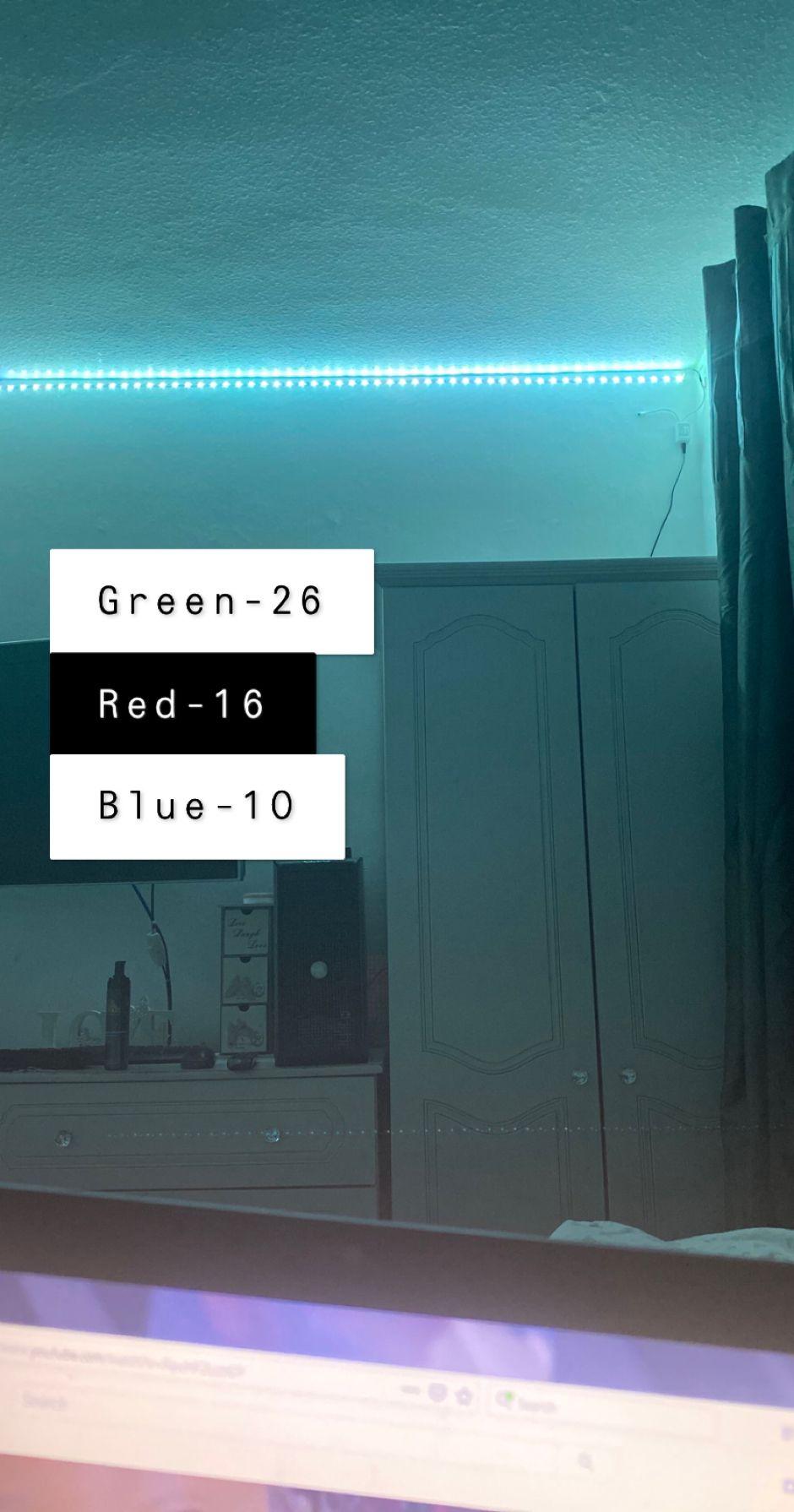Cool Mint Led Lighting Bedroom Led Room Lighting Diy Led Lighting Ideas