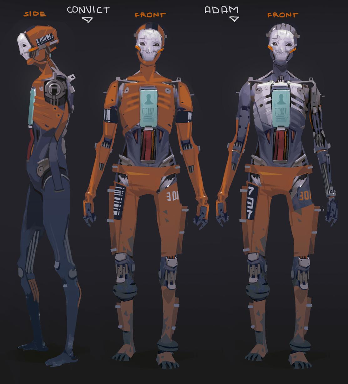 Character Design Unity : Robot samurai more short film cyberpunk and sci fi ideas
