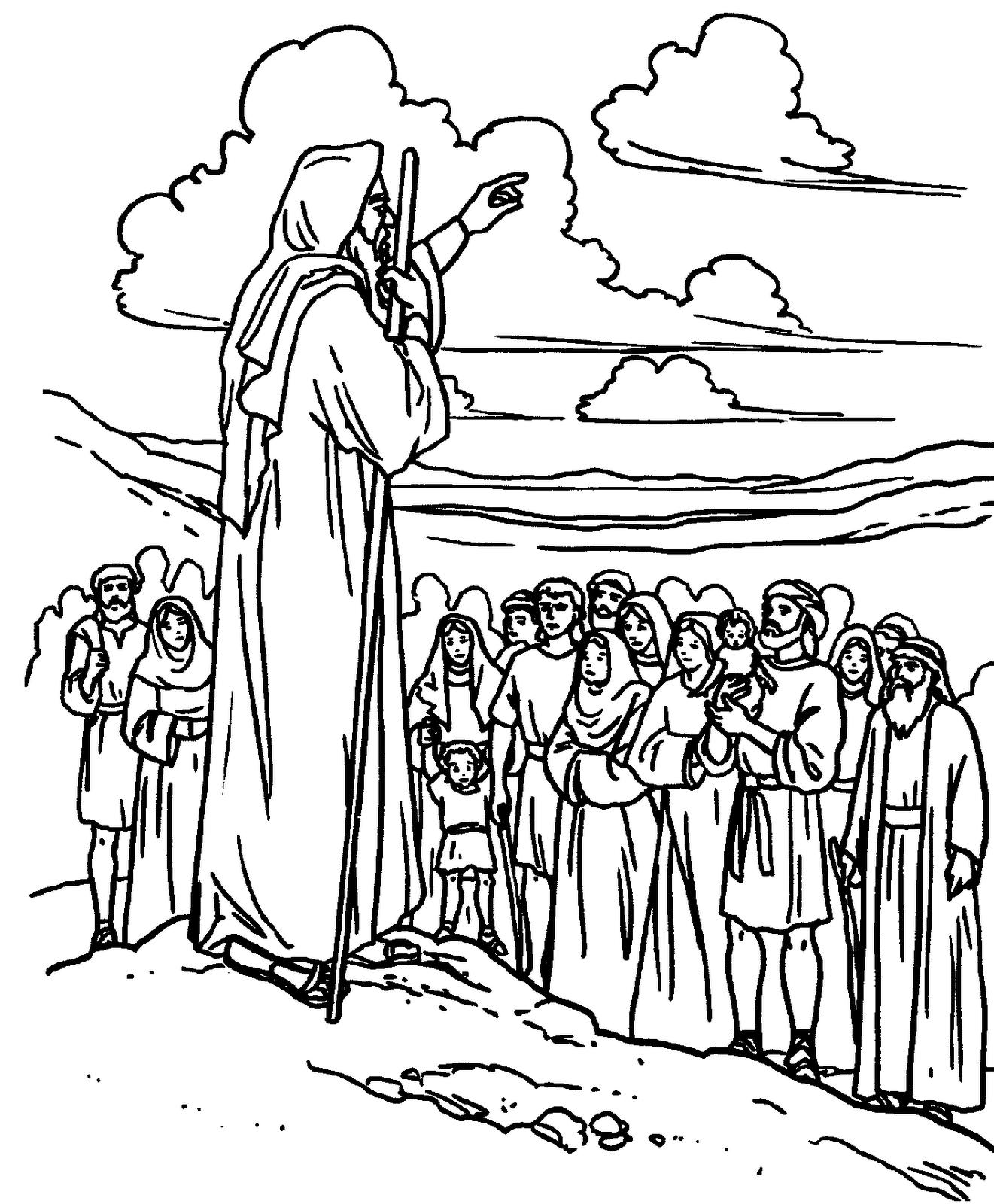 Imagenes para colorear Daniel en el pozo de los leones Jesús en el ...