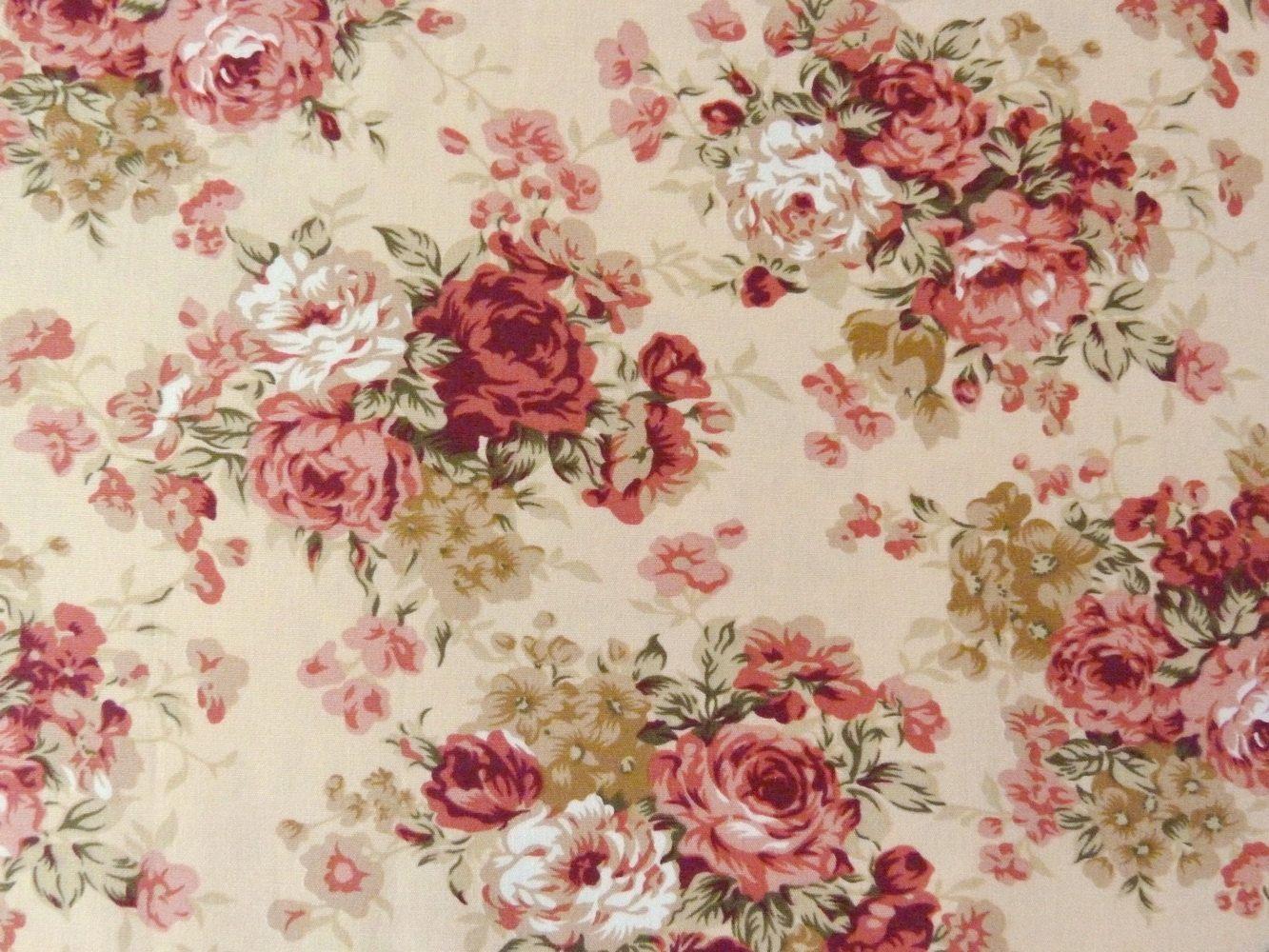 Pink Flowers Wallpaper Floral Wallpapers Print Patterns