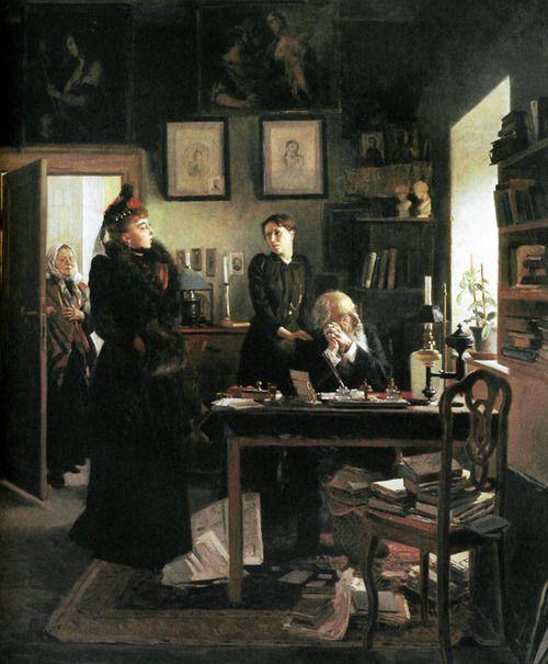 tzarevitch:      'Two Sisters' by Makovsky  1893