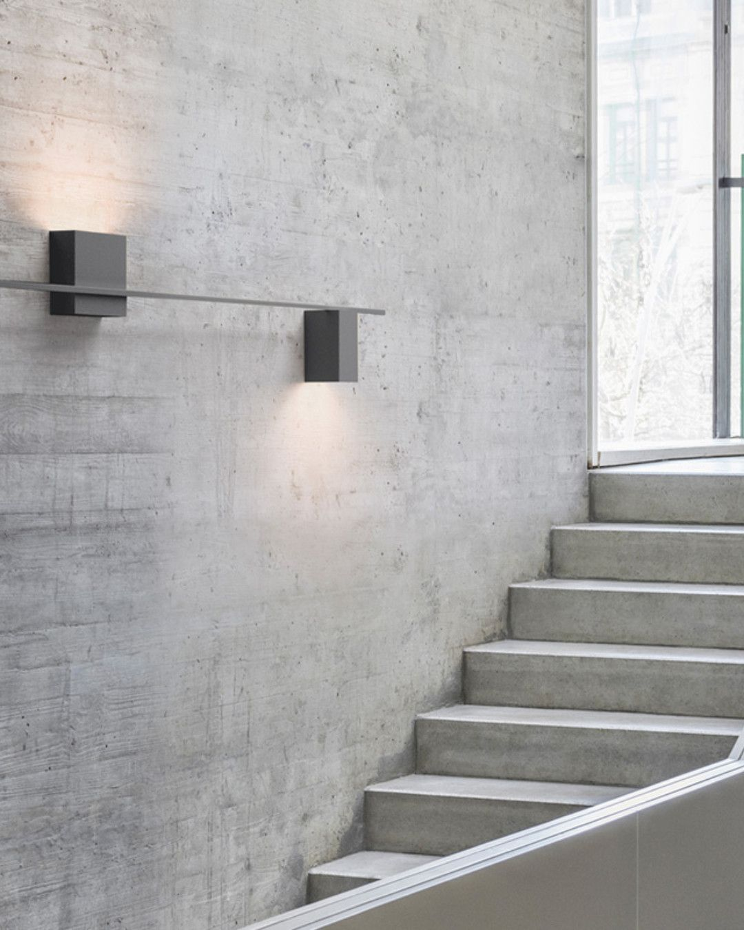 Vibia Structural Led Horizontale Wandleuchte 2 Flammig 261021 23 Wandleuchte Badezimmer Wandleuchten Treppenhaus Beleuchtung