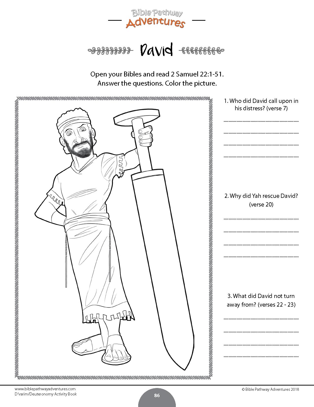Worksheet From D Varim Deuteronomy Torah Portion
