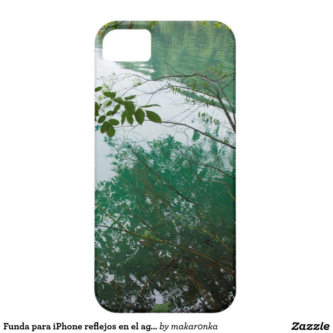 Funda para iPhone reflejos en el agua