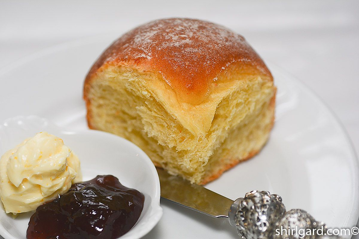 Nectarine Almond Cake